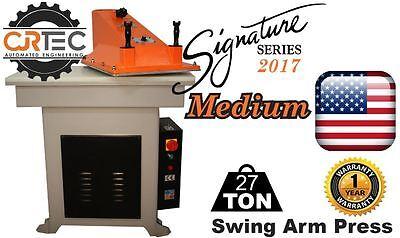 New Cjrtec 27 Ton Swing Arm Clicker Press Medium Signature Series 2017