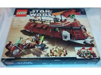 Lego Star Wars 6210 Jabba's Sail Barge - Brand New in Opened Box - Contents Verified