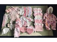 Big baby girl bundle 0-9 months