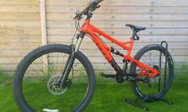 Calibre Bossnut Full Suspension hardtail bicycle full Norco trek specialized