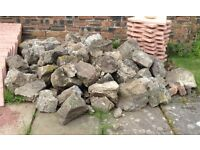 Rockery Stones - approximately 50.