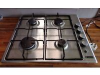 HOWDENS BEKO LAMONA LAM1001 4-BURNER Gas HOB Flame Safe Stainless Steel QUICK-SALE BARGAIN!