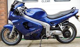 2002 TRIUMPH SPRINT ST BLUE 955i 955