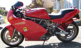 Ducati 600 SS Motorbike Good Condition with MOT currently on SORN