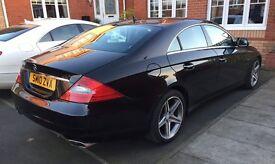 Mercedes CLS 350 CDI Grand Edition 7G-Tronic 4dr - FSH - Sat Nav - Black Leather