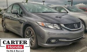 2013 Honda Civic EX + LOCAL + NO ACCIDENTS + CERTIFIED!