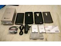 LG G3 Smartphone Grey 4G 16GB + 64GB micro SD - 2 Batteries, 2 Cases (Unlocked)