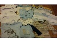 20 item baby boy bundle 3-6 months Next, Jasper Conran, Mothercare, Pumkin Patch
