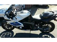 Motorcycle bmw k1300s limited edition