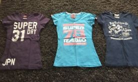 Superdry Tee Shirts Extra Small
