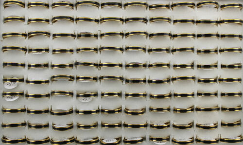 Gold P Jewelry Wholesale Lots 40pcs Fashion Men