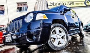 2009 Jeep Compass Sport! 4 Cyl 2.0L! AuxIn! ONLY $149/bi-weekly!