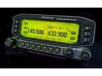 Kenwood TM - D710E / Watson Power Supply.