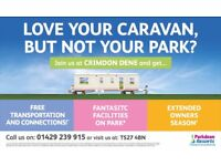 Change caravan park?FREE TRANSPORT & CONNECTIONS,Perfect location,Sea Views,Beach,Complex,Swimming +