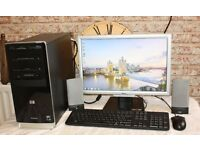Complete PC Desktop HP Pavilion A6000 Computer Set