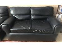3 Seater,2 seater and 1 chair leather sofa