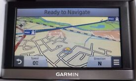 """5"""" GARMIN nuvi 2597LM Advanced Series, Lifetime updates for ALL EUROPE FULL MAP! (no offers!)"""