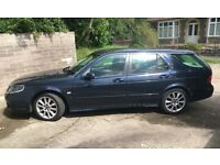 SAAB 9-5 AIRFLOW 150 ESTATE TID IN BLUE 1.9 DIESEL £1,999 REG NOV 2006, EXTENSIVE SERVICE HISTORY