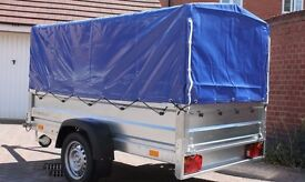 Car trailer 7.74ft x 4.1ft + top cover