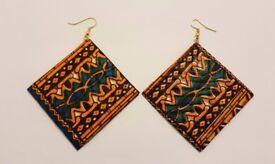 Jewellery- handmade fabric jewellery