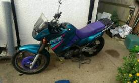 Kawasaki KLE 500 low miles only 21784 cheap bike good condition