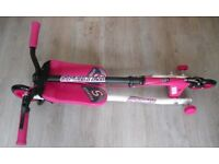 Sporter 1 Scooter Pink (Suitable for ages 6+) NEW - Unused