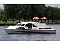 ROYAL WEDDING WINDSOR -be there-thames cruiser for hire- windsor/datchet-luxury 10 berth in 5 cabins