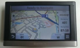 "5"" GARMIN Nuvi 2557LMT GPS Sat Nav Lifetime ALL EUROPE 3D MAP & TRAFFIC Updates! (no offers, please)"
