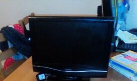 "15"" technika lcd tv with dvd player"