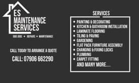 ES Maintenance Services - Odd Job - Repairs - Maintenance