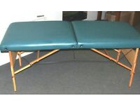 LIVING EARTH CRAFTS MASSAGE/SPA/TREATMENT PORTABLE FOLDING TABLE. COLLECT ONLY