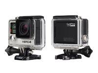 GoPro Hero 4 Black edition Action Camera 4K new!!
