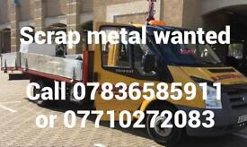 Scrap metal collectors