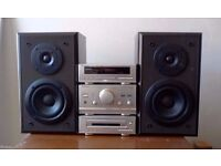 Technics SA CA01 robust micro Hi-Fi audio system SPEAKERS ONLY