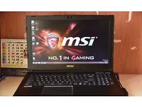 """MSI Leopard Pro GP62 6QF-453UK Gaming Laptop 15.6"""" i7-6700HQ 8GB 1TB+128GB GTX960M"""