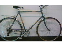 "Mens Large Hybrid Raleigh Single Speed Bike 23""/ 58.5cm Ready to ride away!"
