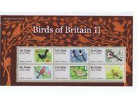 GB Pictorial Post & Go - Birds of Britain II, III & IV