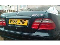 2000 ( Wreg ) NO TIME WASTERS . MERC CLK 430 sport auto AMG Pack. . REPAIR JOB .!!!