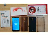 Oneplus 3 64Gb plus 3 cases and screen protector