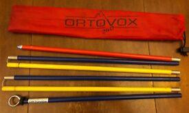 Ortovox avalanche probe 240cm - good condition
