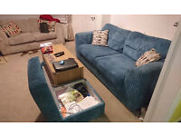 Lovely DFS Sofa's can come as a set or separately