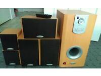 Bush PRO300A Active 6 Speaker System
