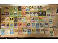 Pokemon Card Rare Base Set Jungle Fossil Rocket Neo Gym