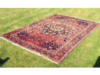 Large Hand Woven Iranian Wool Rug