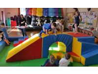Glasgow and Ayrshire Mobile soft play hire. We bring the party to you.