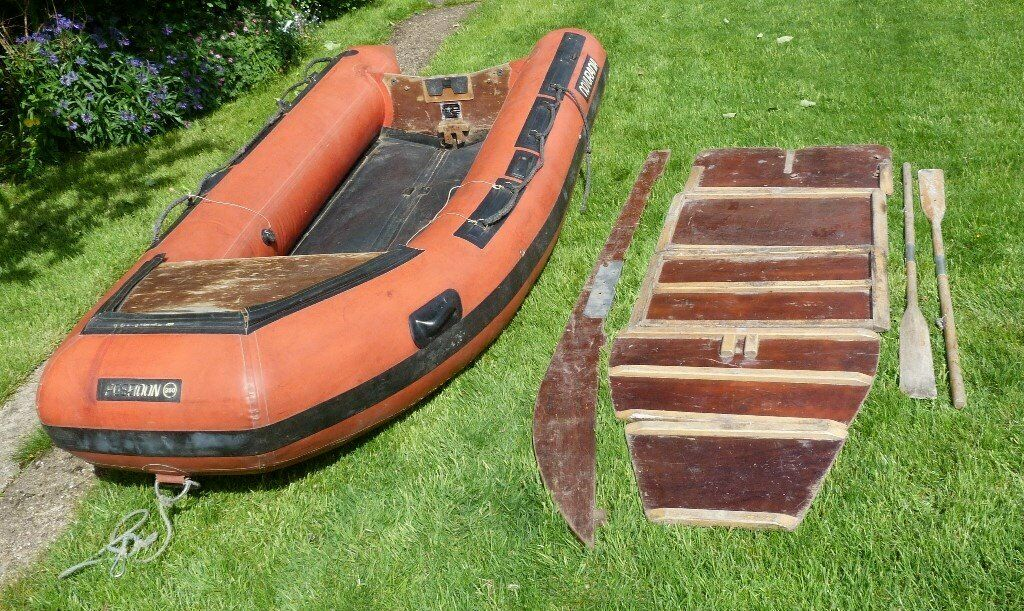 Inflatable boat / dinghy 3 6m (11 8 feet) hypalon Poseidon Novurania | in  Bolton, Manchester | Gumtree