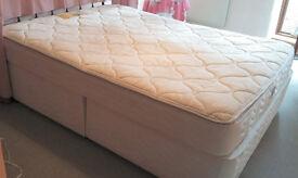 Bargain 5ft divan bed and mattress