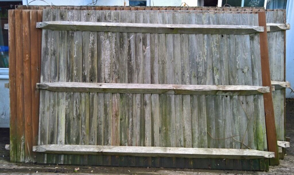 5 X Solid Wood Fence Panels 4 Gravel Boards And 6 Posts In Southwick East Sus Gumtree
