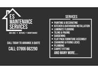 ES Maintenance Services - Odd Jobs - Repairs - Maintenance