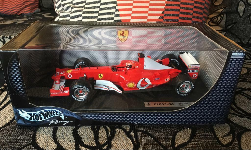 Hot Wheels Racing 1/18 Ferrari F2003-GA Michael Schumacher